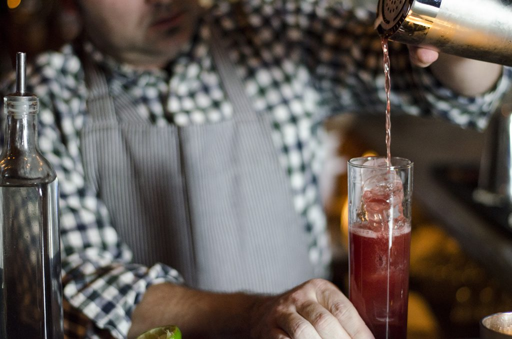 Mark Dutka of The Blind Owl knows how to make a darn good cocktail.