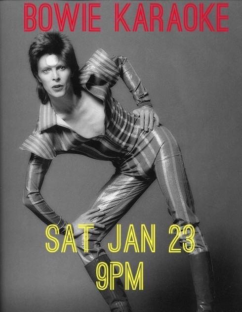 Bowie Karaoke!