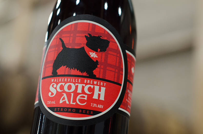 Walkerville Brewery's Scotch Ale.