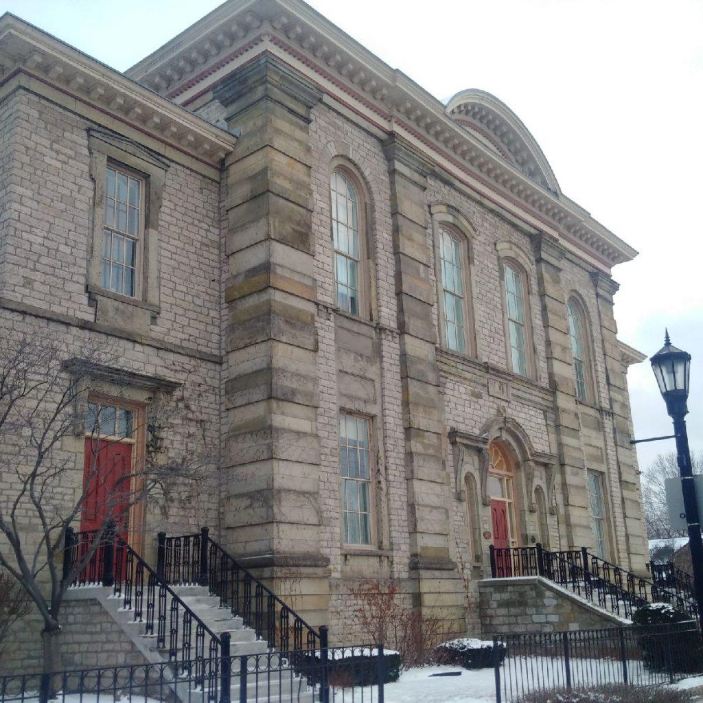 The historic Mackenzie Hall.
