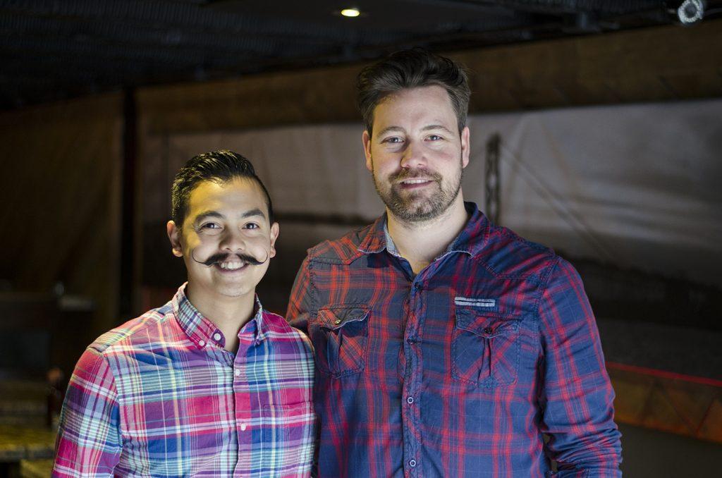 John Alvarez and Tom Scully of F&B Walkerville.