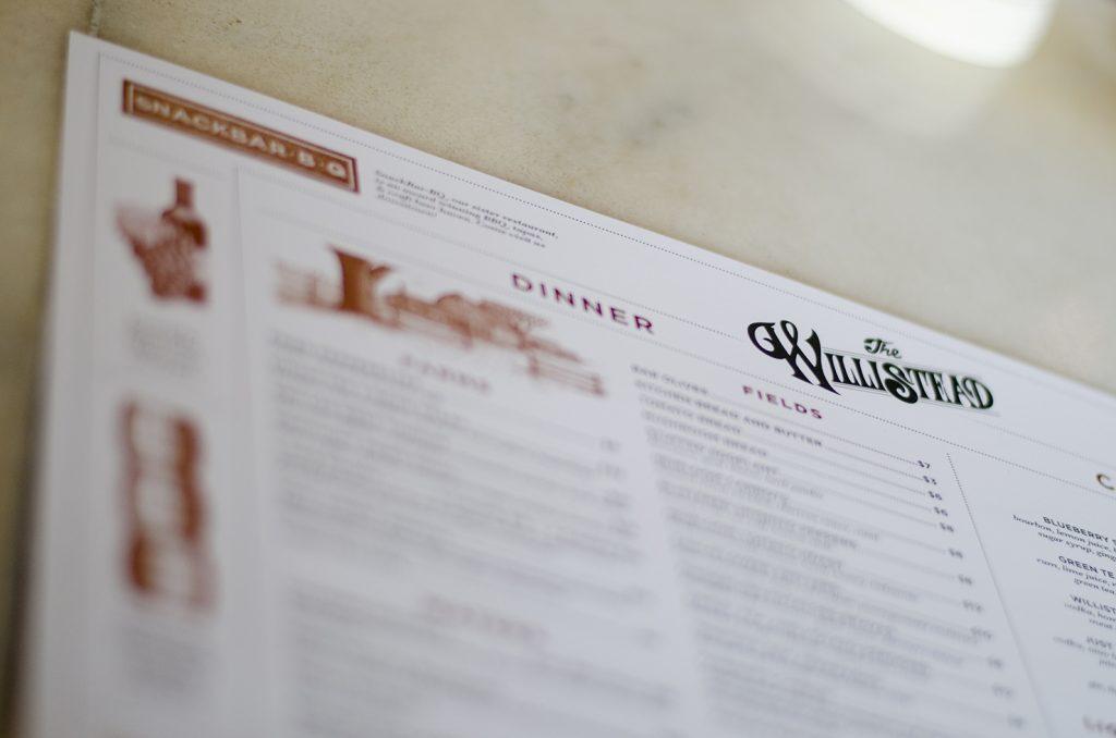 The Willistead Restaurant.
