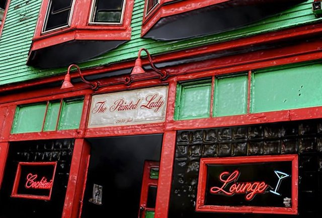 The Painted Lady in Hamtramck.