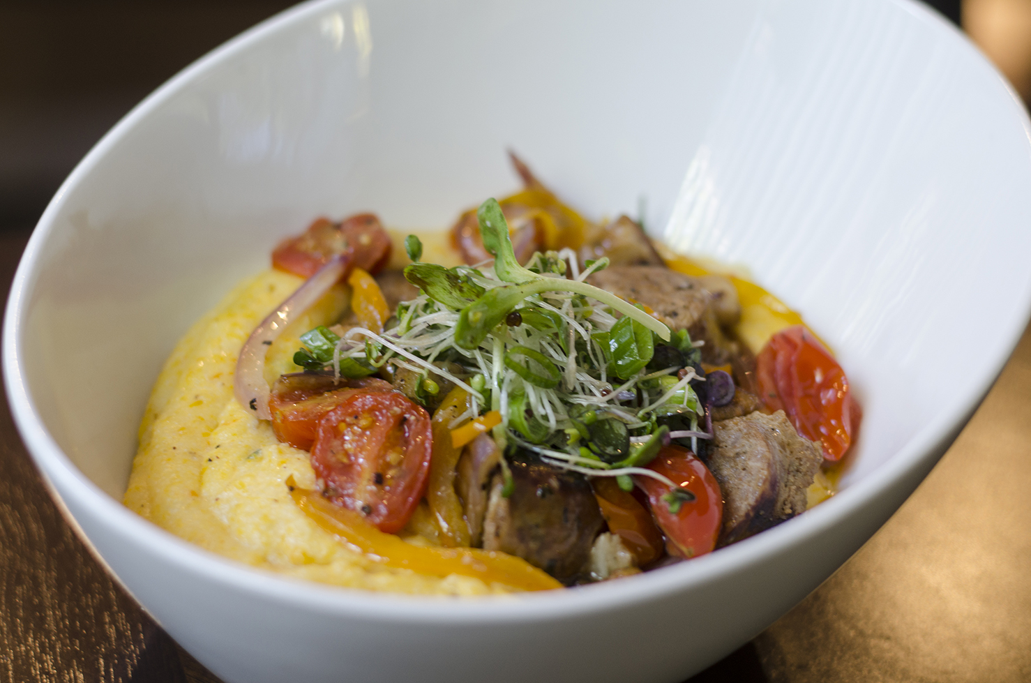 These Autumn grits will warm up your body and soul.