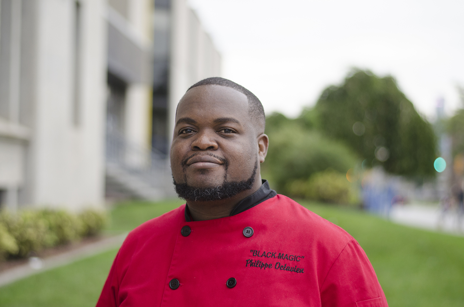 Chef Philippe Octavien of Black Magic Culinary Creations