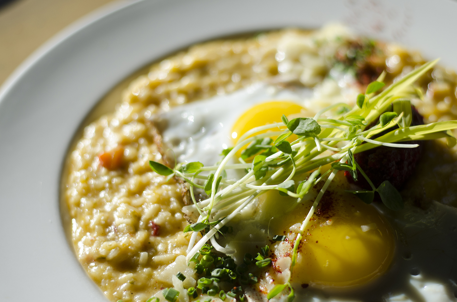 Breakfast Pumpkin Risotto