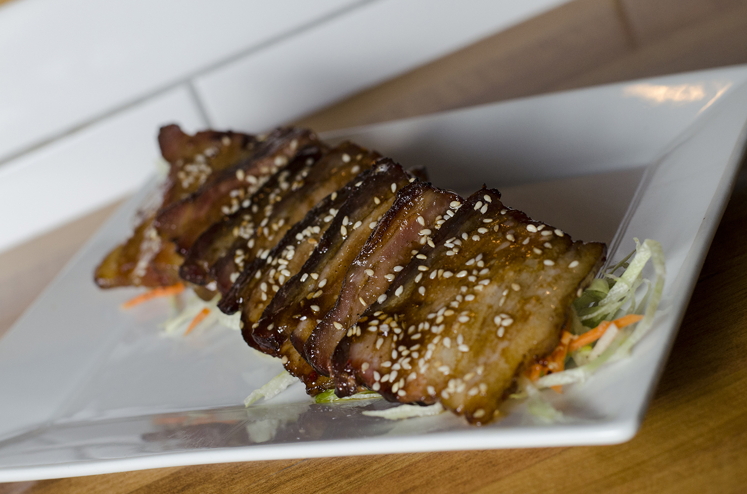 Chef Ted Dimoglou makes one heck of a pork belly.