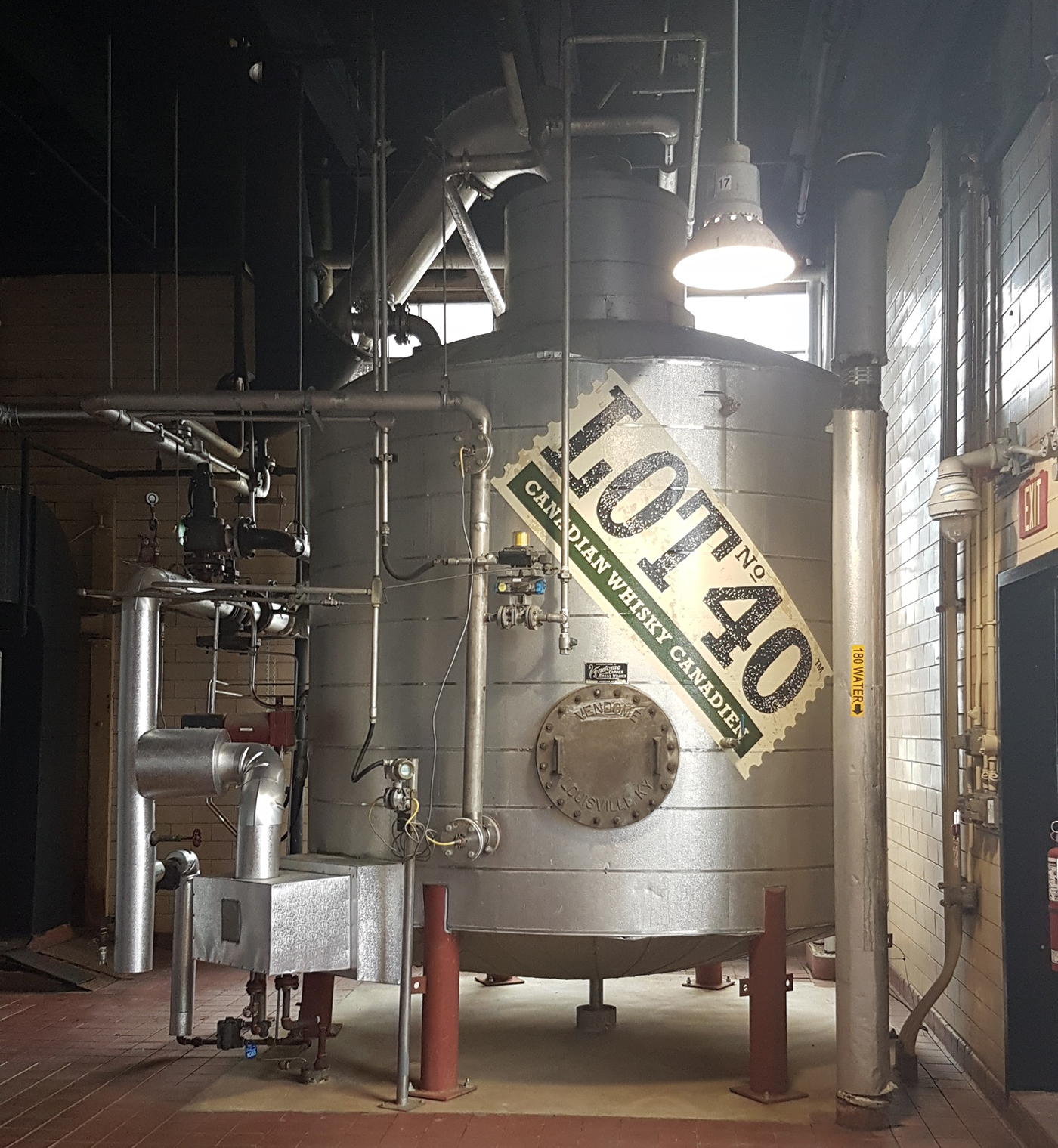 Take a stroll through North America's largest distillery with WindsorEats.