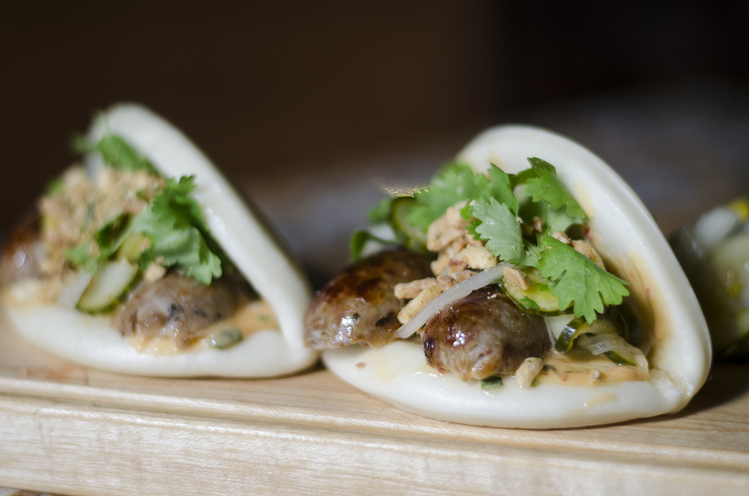 One of the tastiest Bao Buns we've ever had.