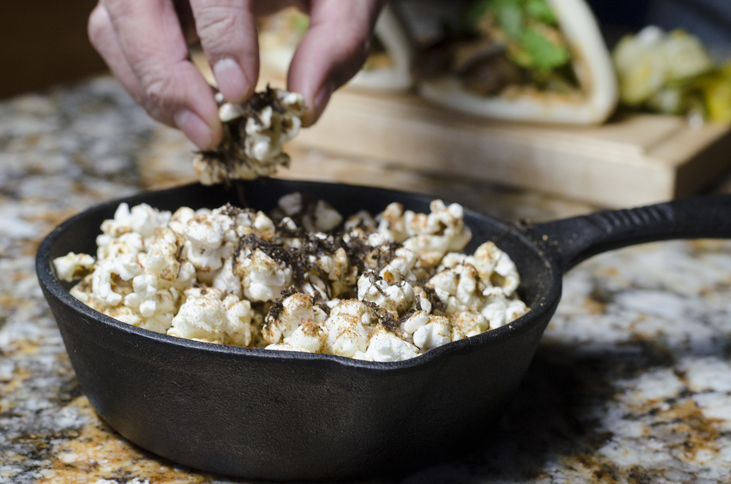 Cricket Truffle Popcorn, anyone?