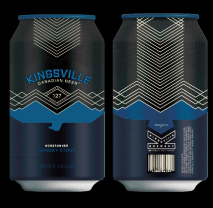 Kingsville Brewery cans are looking stylish!