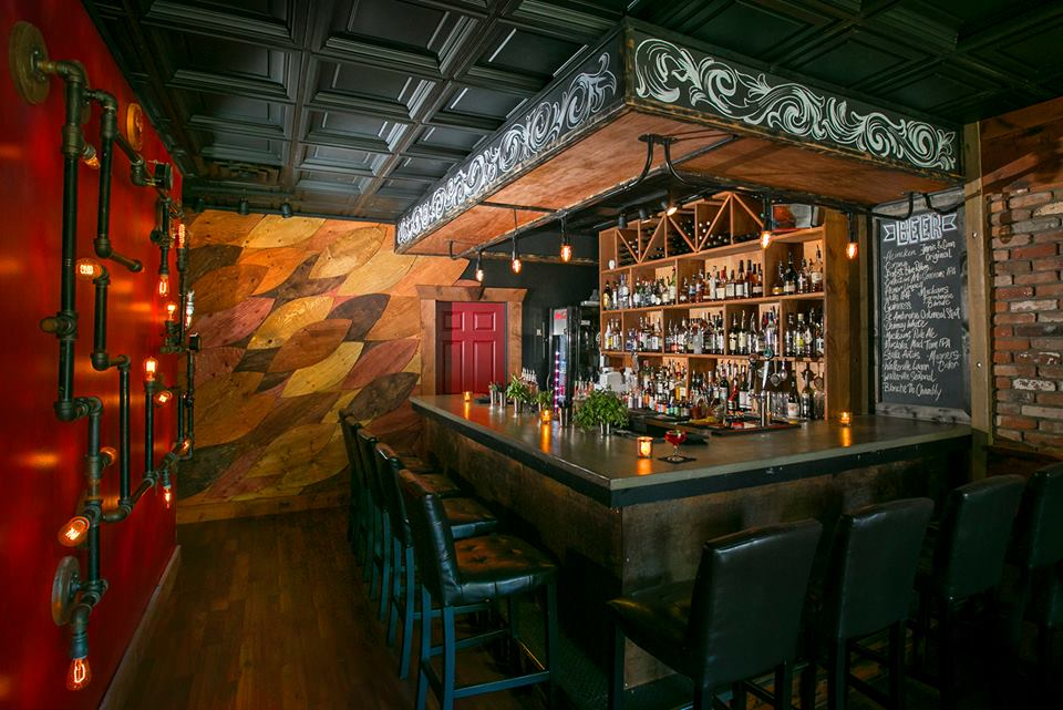 Enjoy craft cocktails at The Blind Owl