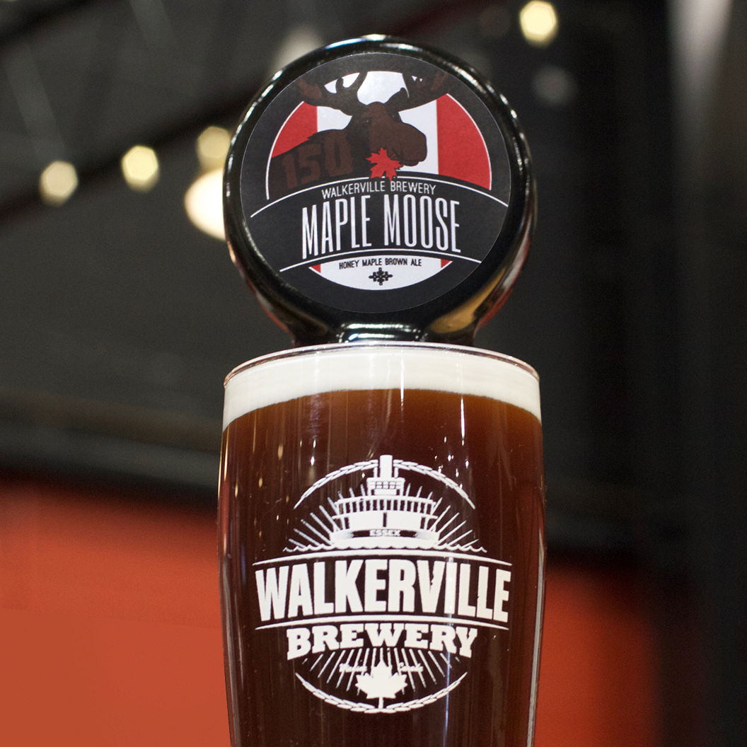 The Maple Moose by Walkerville Brewery.