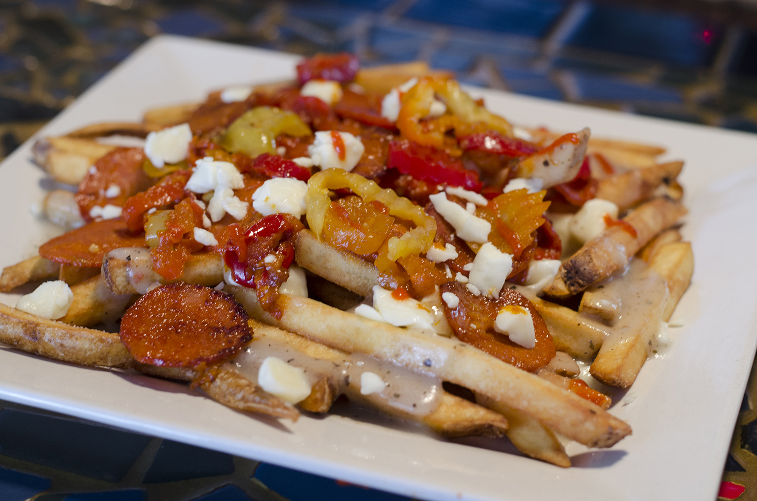 Hot Lips poutine from Phog Lounge