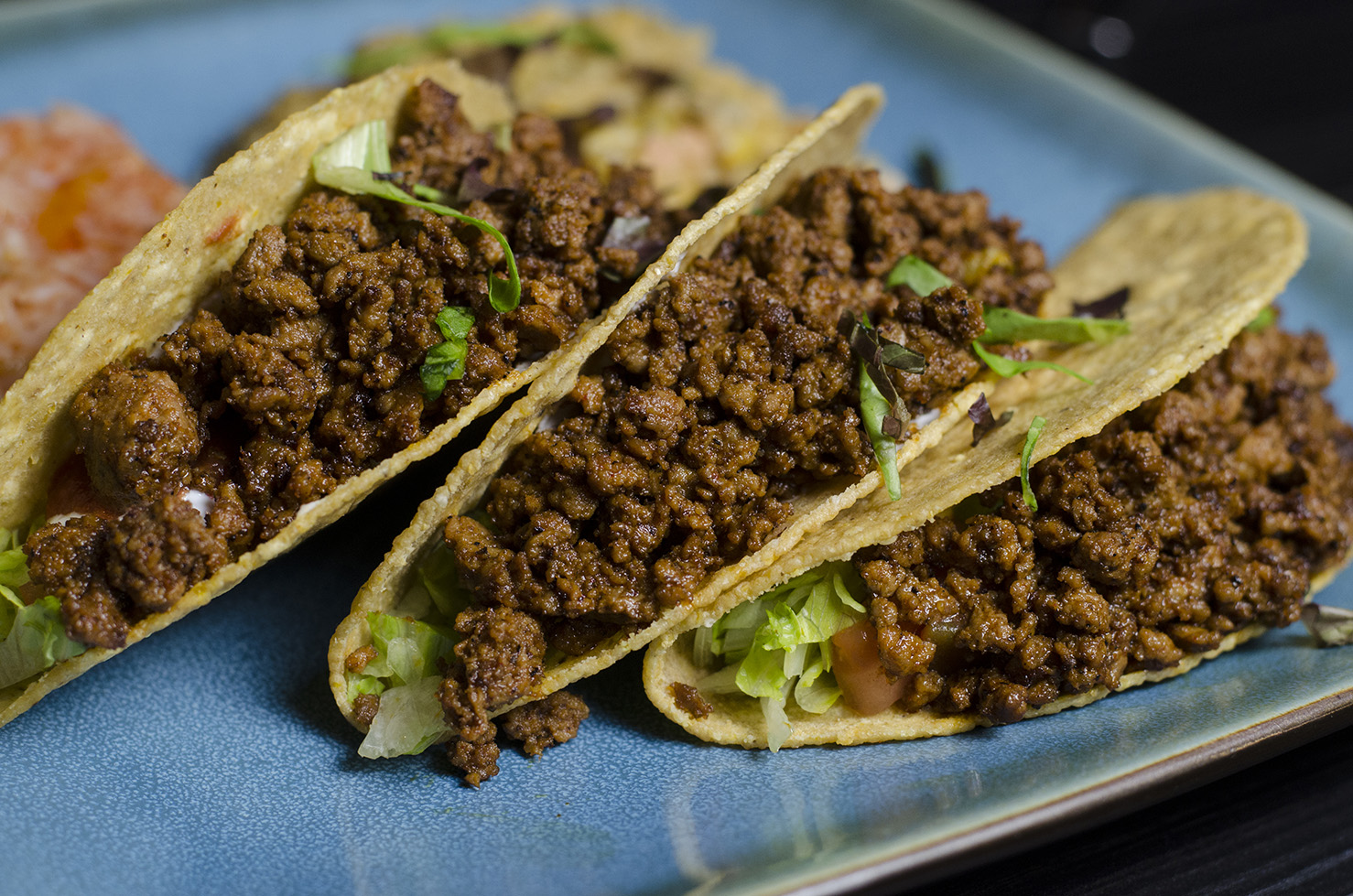 Kobe beef tacos from The City Grill.
