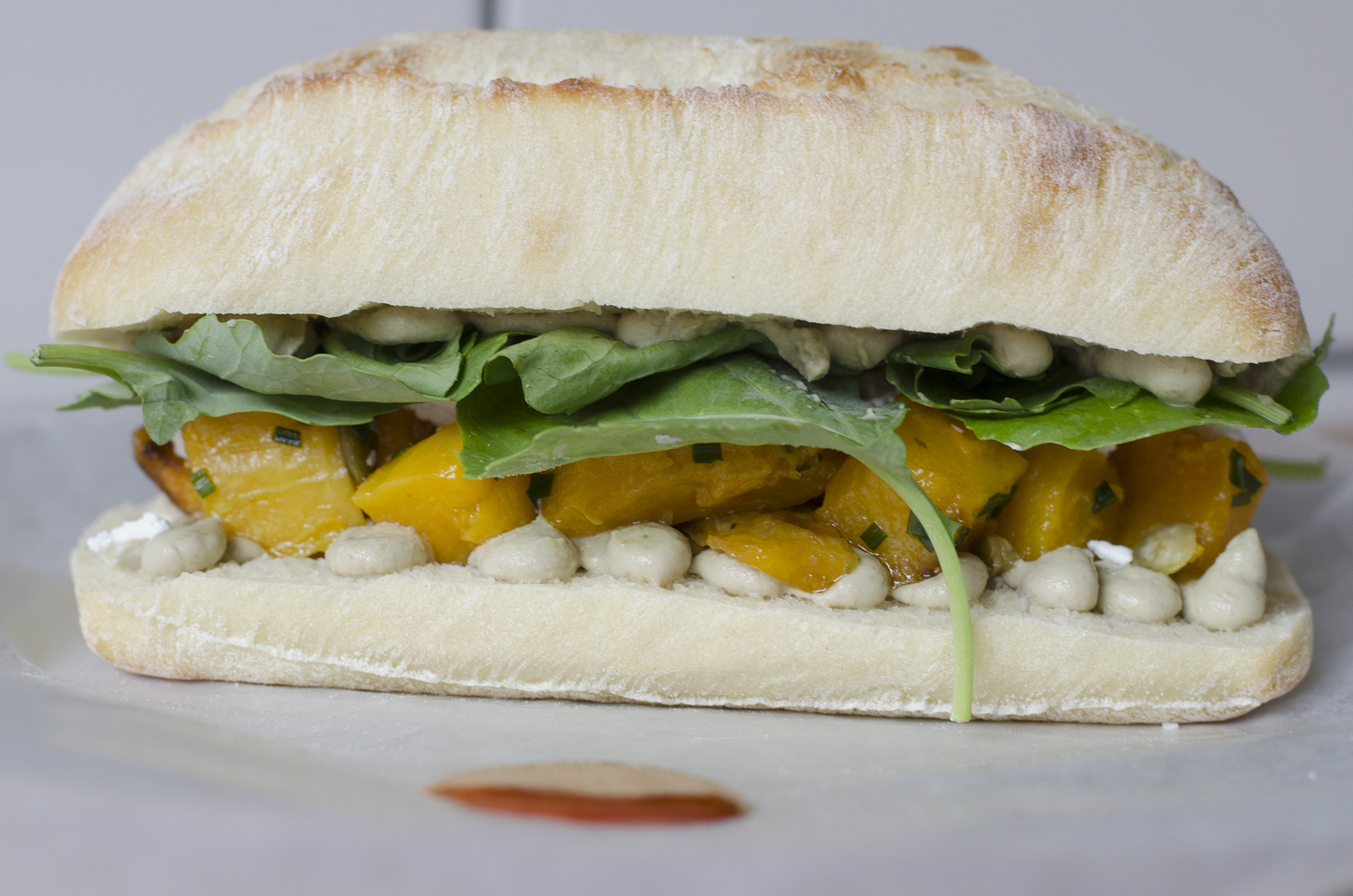 The Nutty Professor is a vegetarian sandwich that non-vegetarians will love.