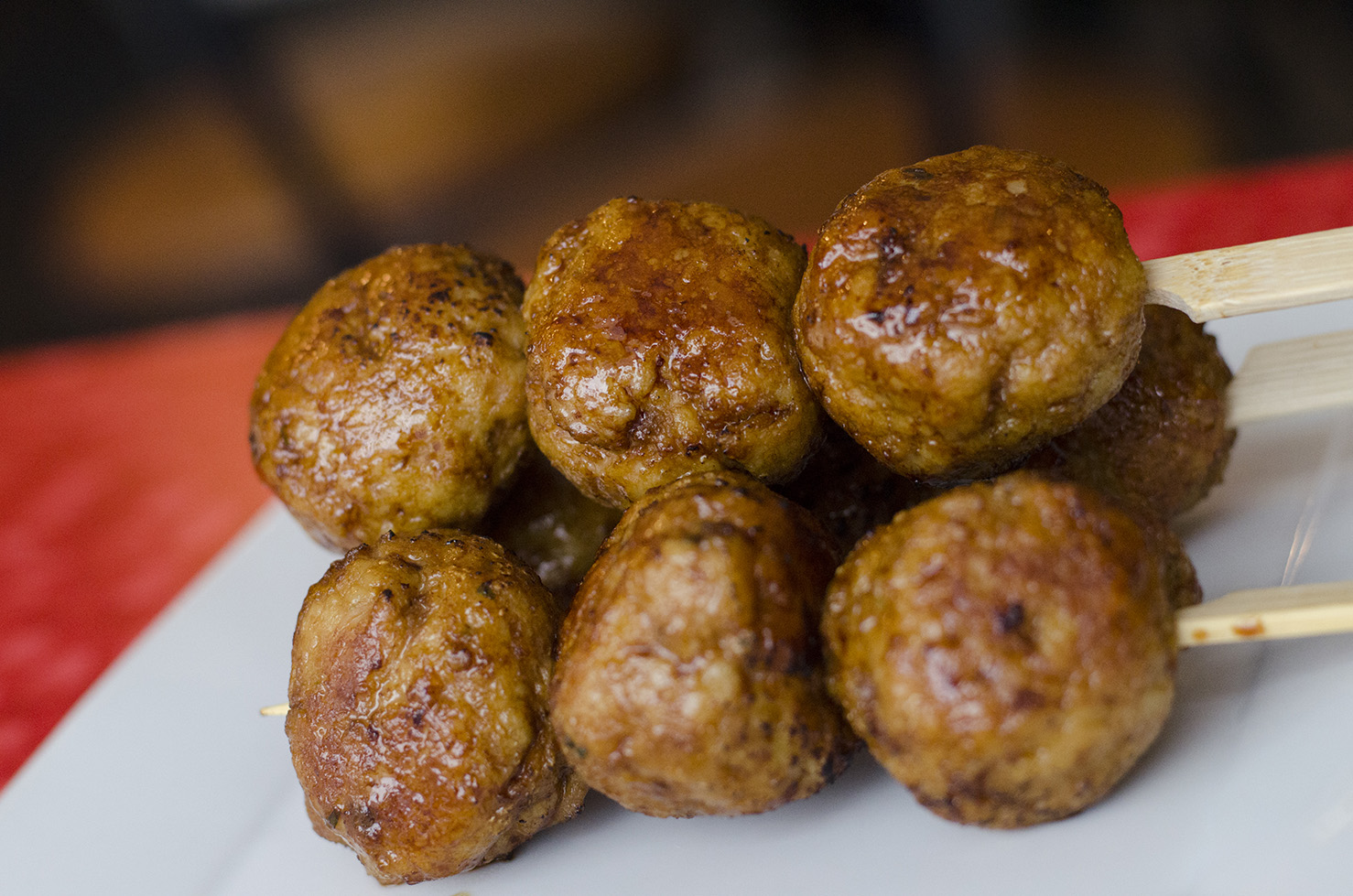 Japanese meatballs!