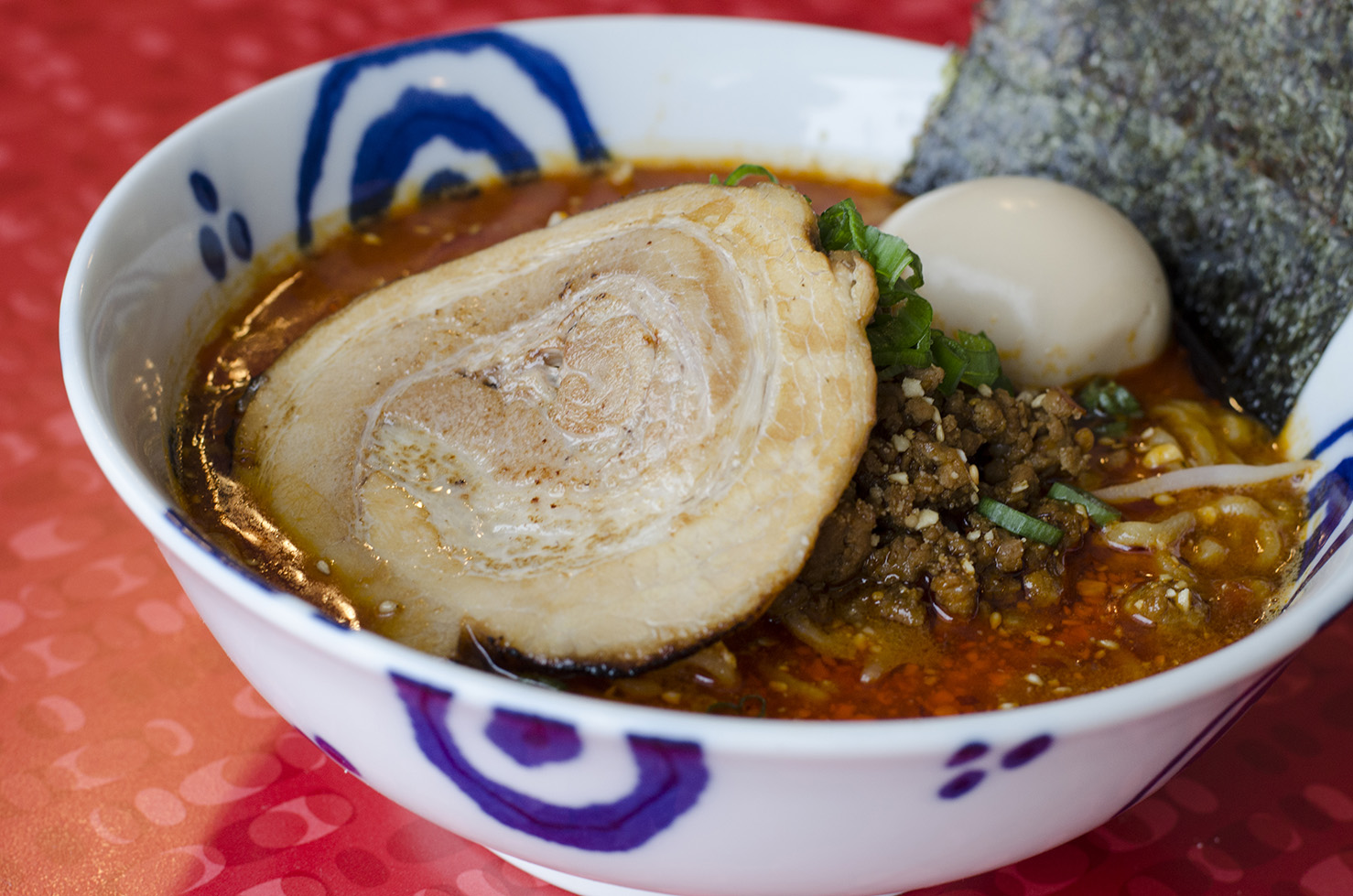 Tantanmen Ramen from Eros Asian Eatery.