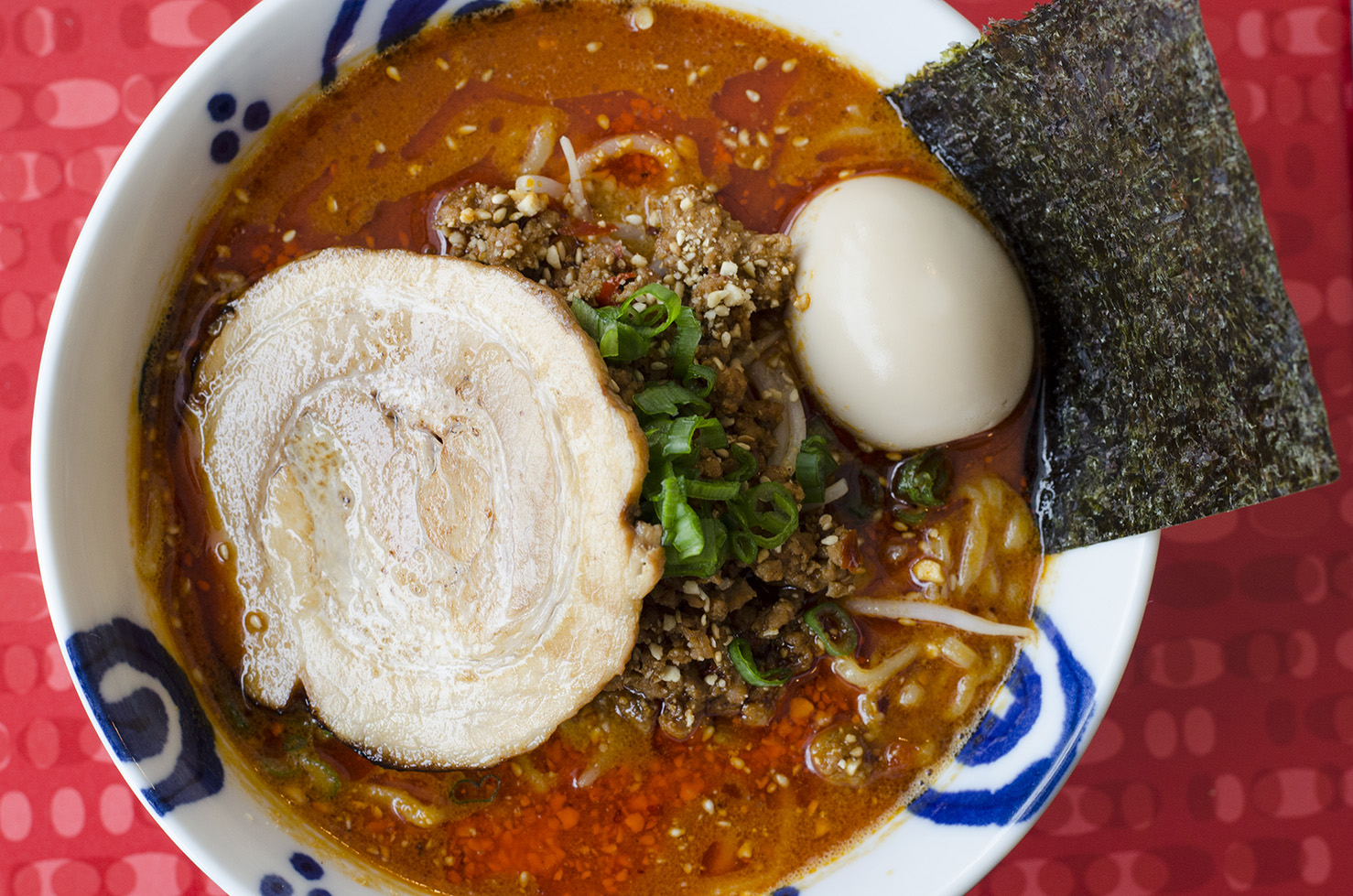 Is the Tantanmen ramen at Eros Asian Eatery Windsor's most popular ramen dish?