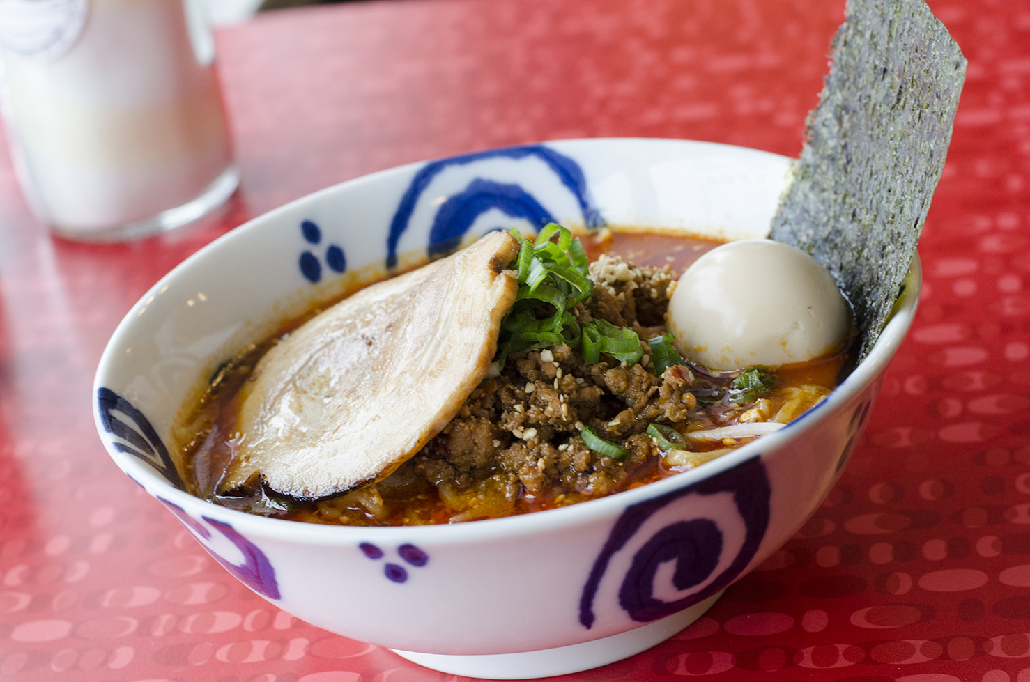 Have you tried the Tantanmen ramen at Eros Asian Eatery?