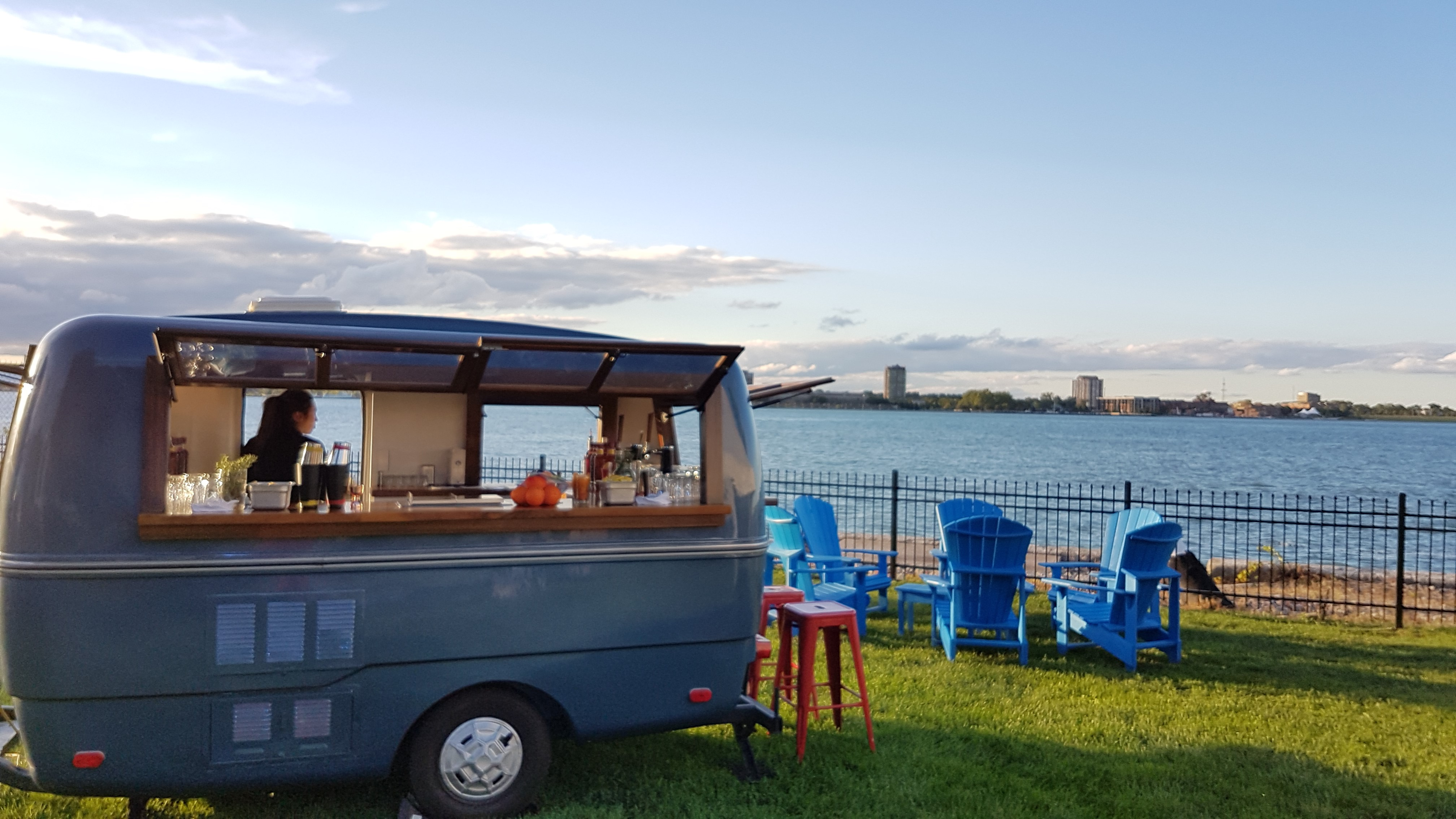 The Traveller is a cute, vintage mobile bar, available across Southwestern Ontario.