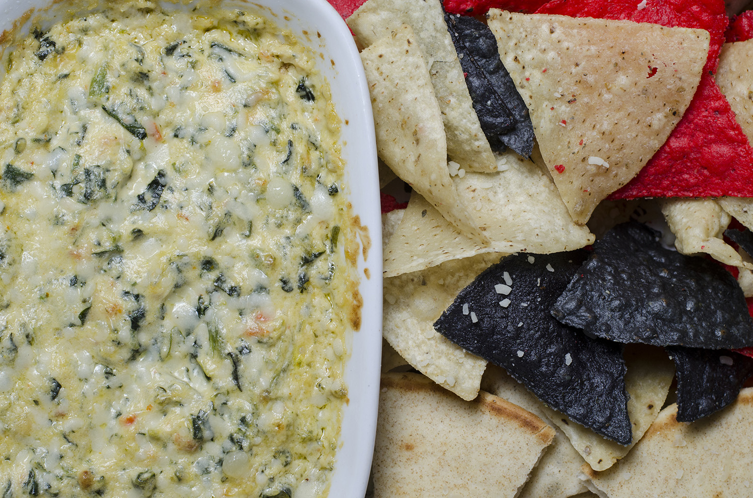Spinach Dip from Frank Brewing Co.
