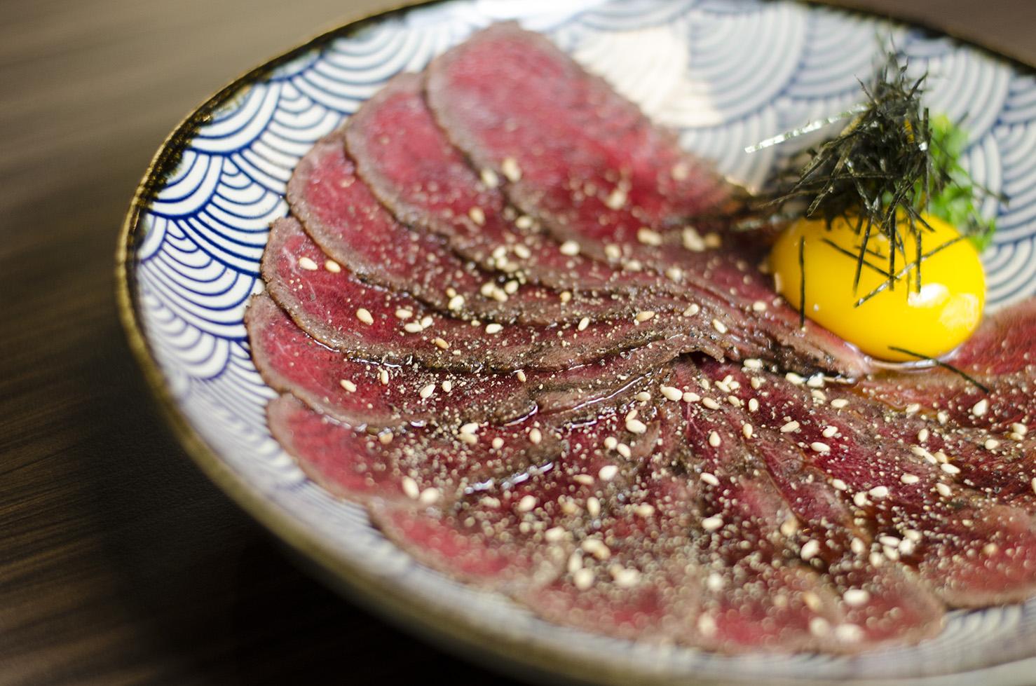 Beef Tataki from Spoon Ramen.