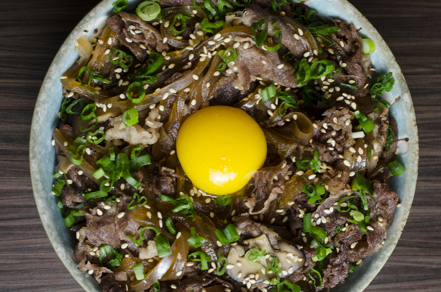 Gyudon from Spoon Ramen.