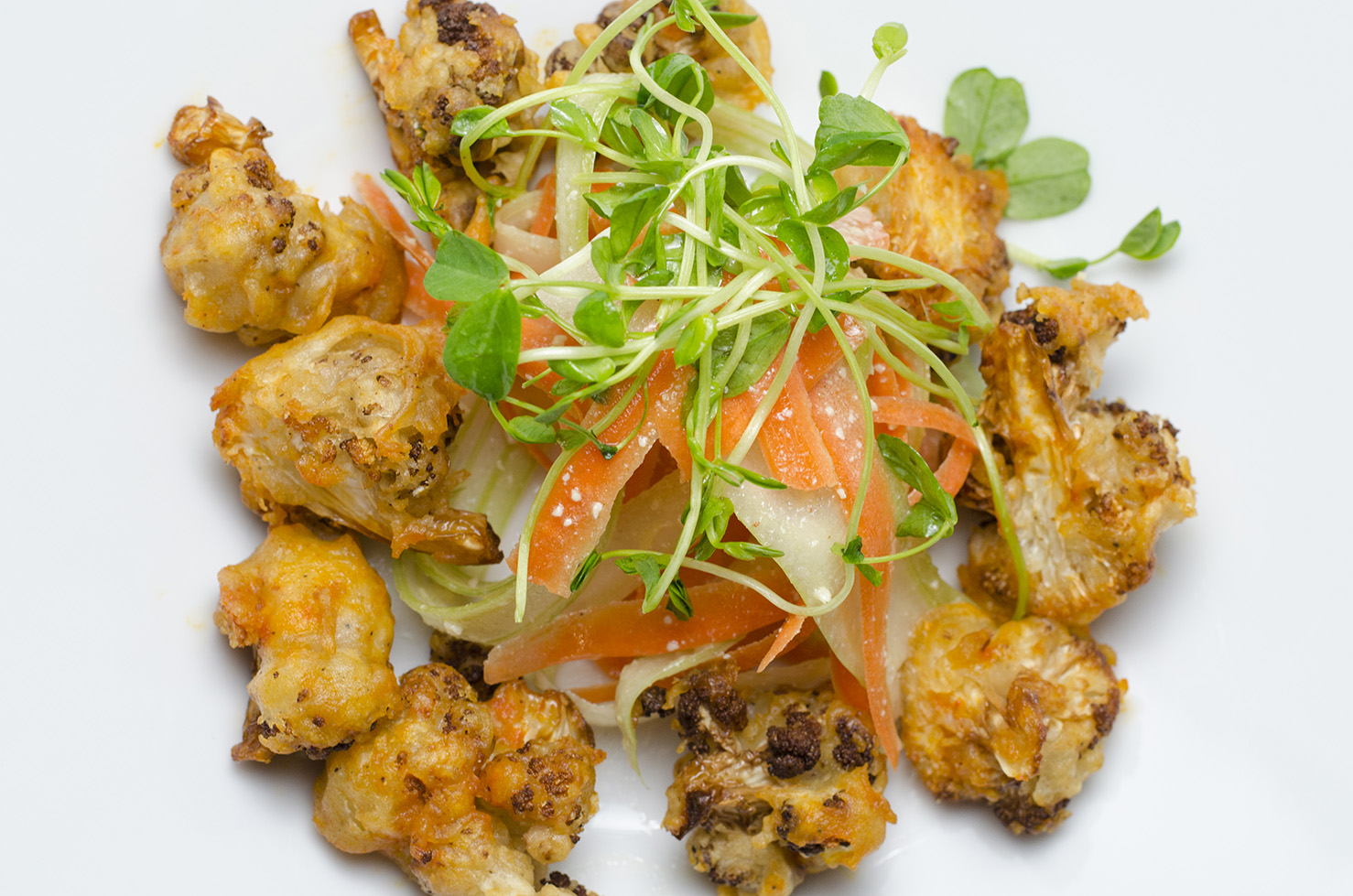 Buffalo Cauliflower at Thyme Kitchen.