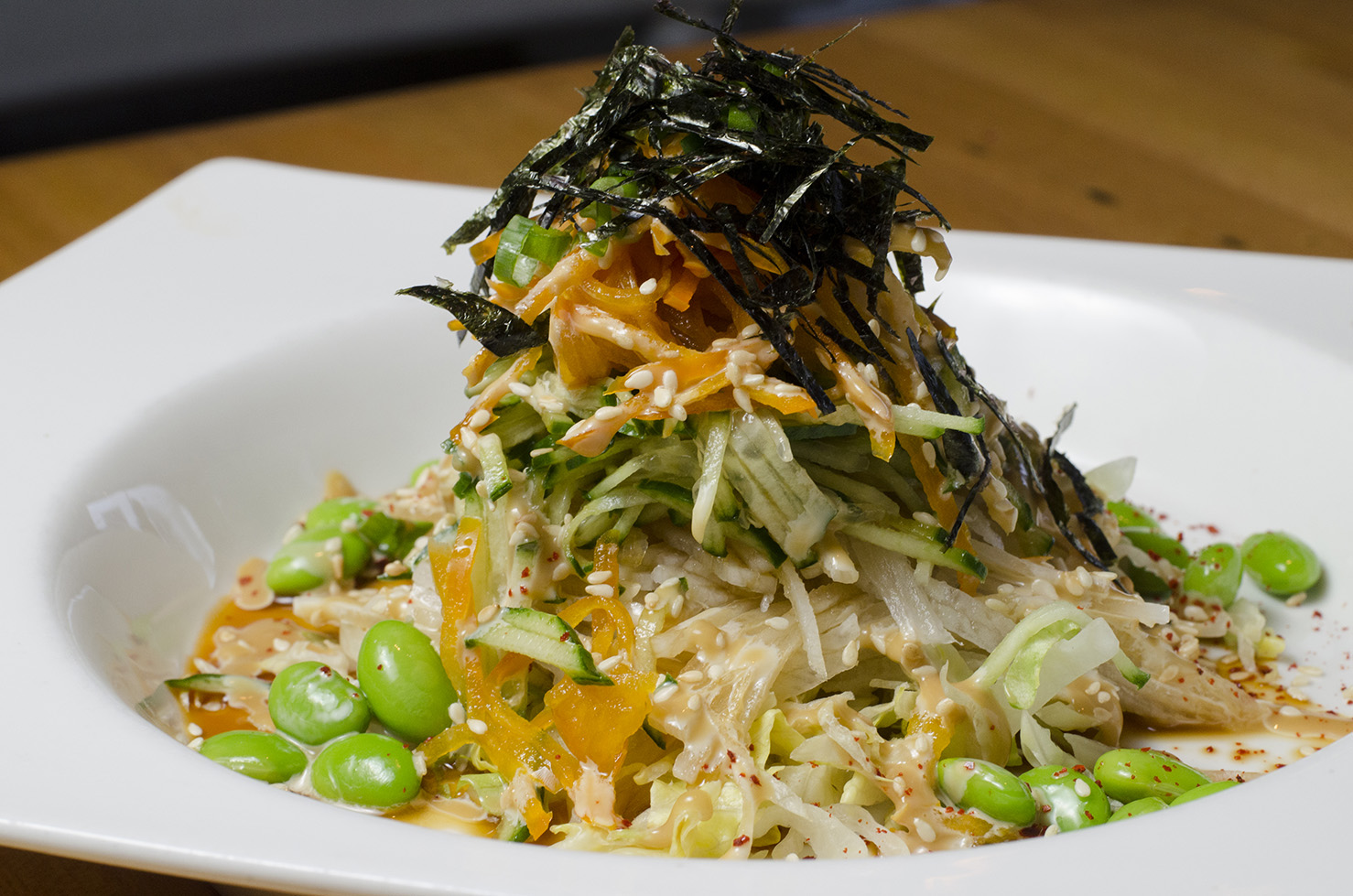 Salad from Tiki Sushi.