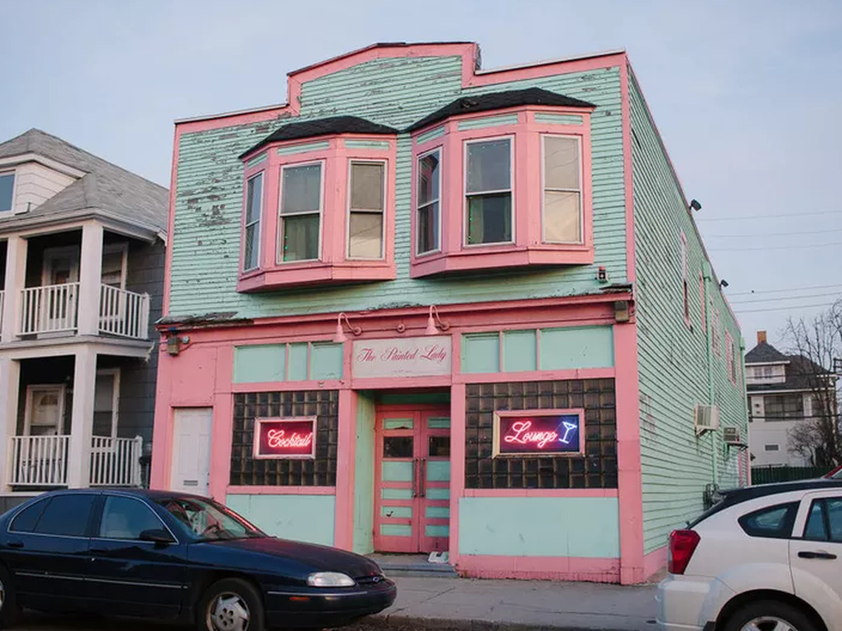 The Painted Lady in Hamtramck, Michigan.