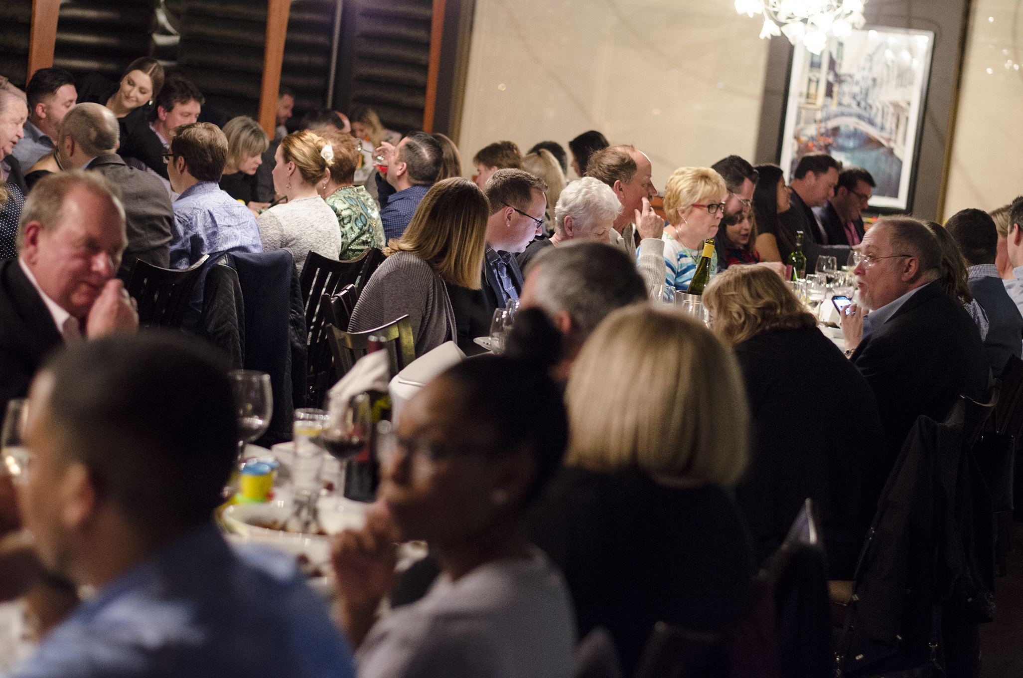 A packed evening at Mezzo Restaurant for Chef Michael Smith's visit to Windsor, Ontario.