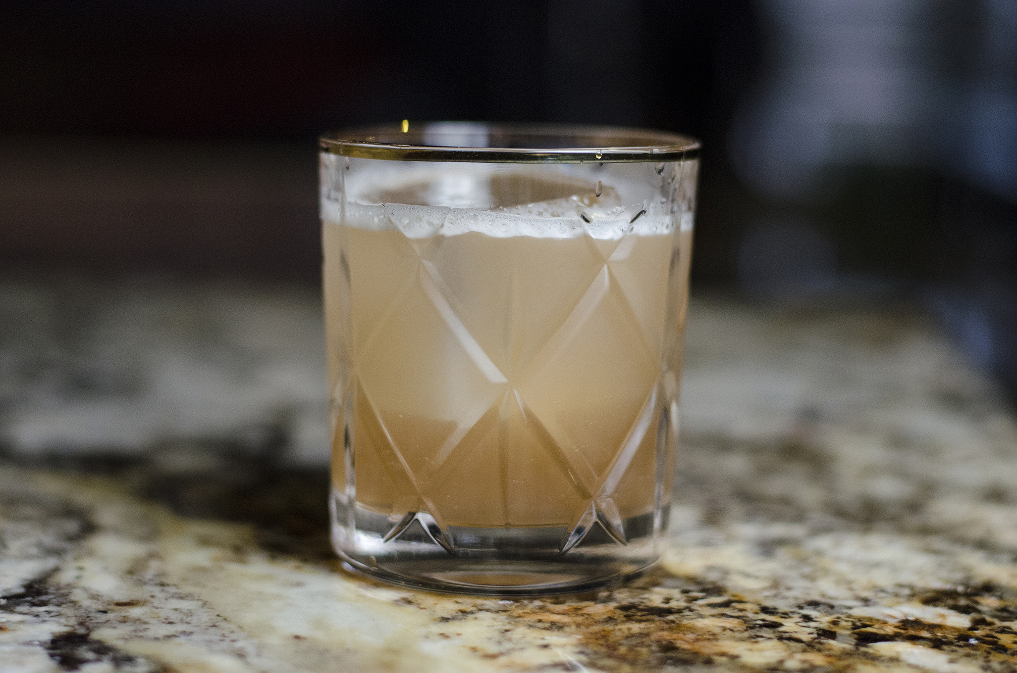 The Kentucky Bloom cocktail from the 2018 spring cocktail menu at F&B Walkerville in Windsor, Ontario.
