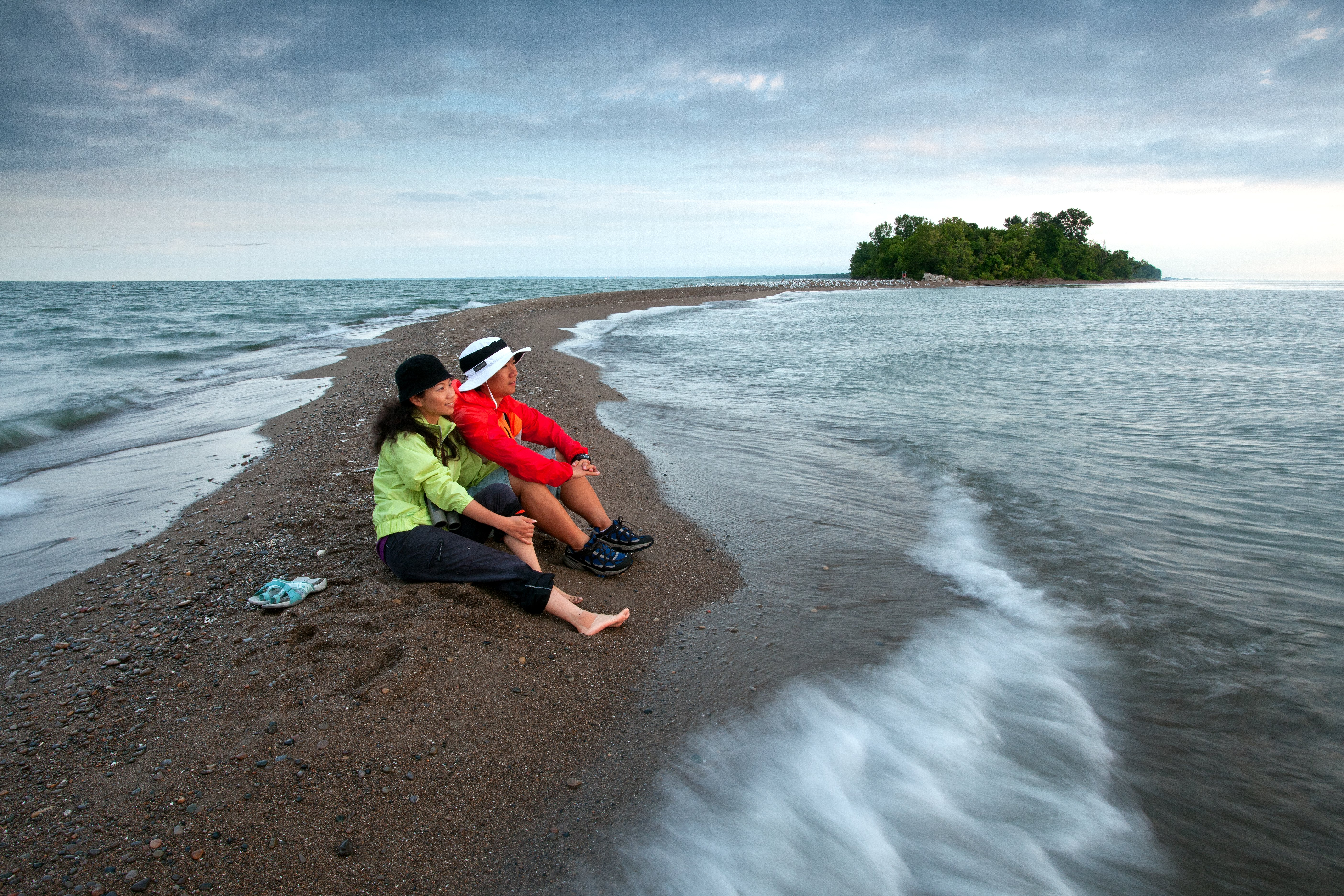 Just the tip: the southernmost point of mainland Canada is at Point Pelee National Park.