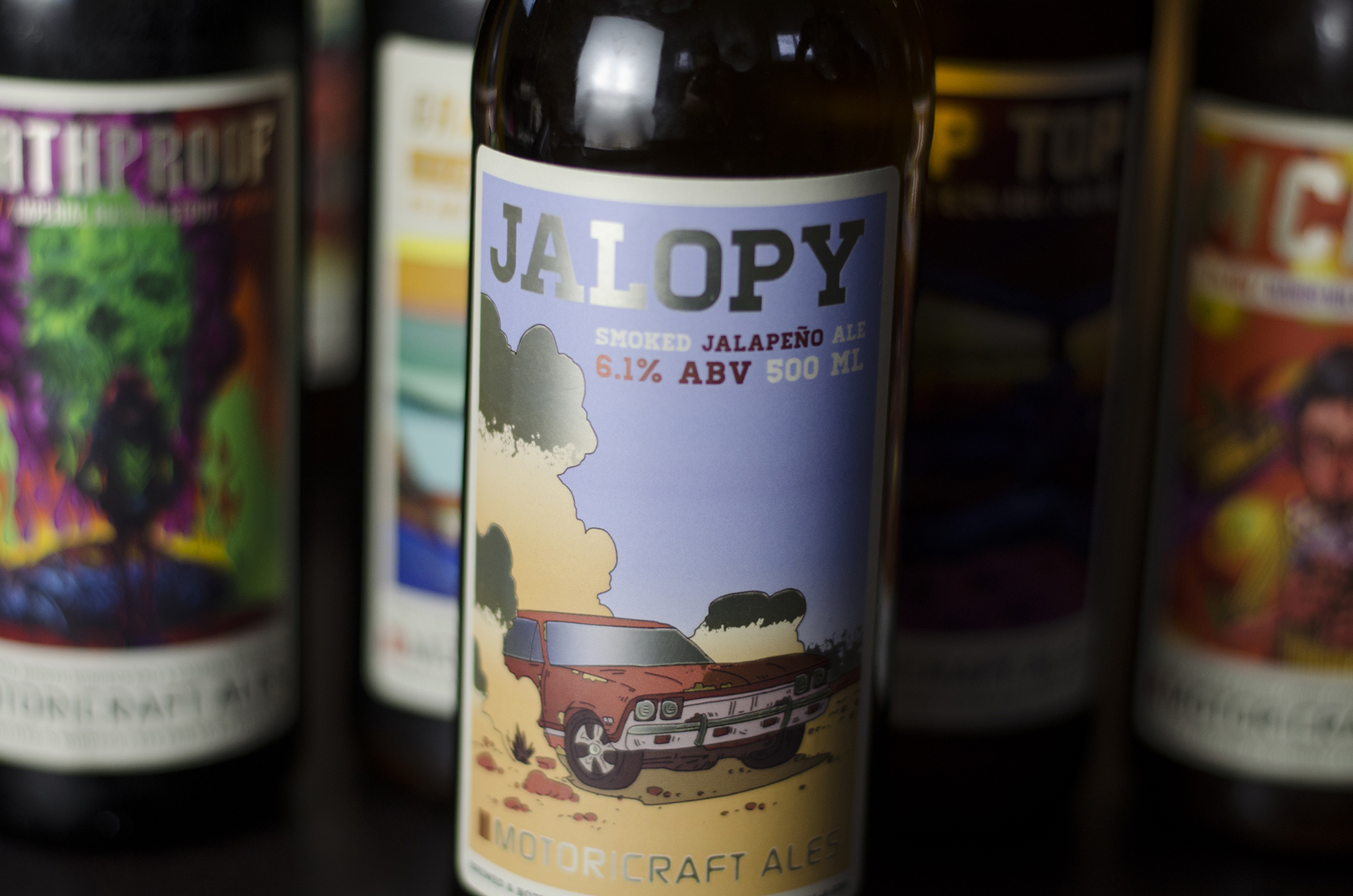 Jalopy from Motor Craft Ales in Windsor, Ontario.
