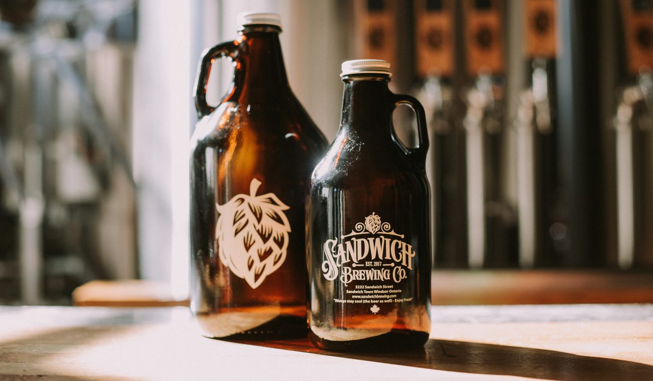 Sandwich Brewing Co. in Windsor, Ontario.