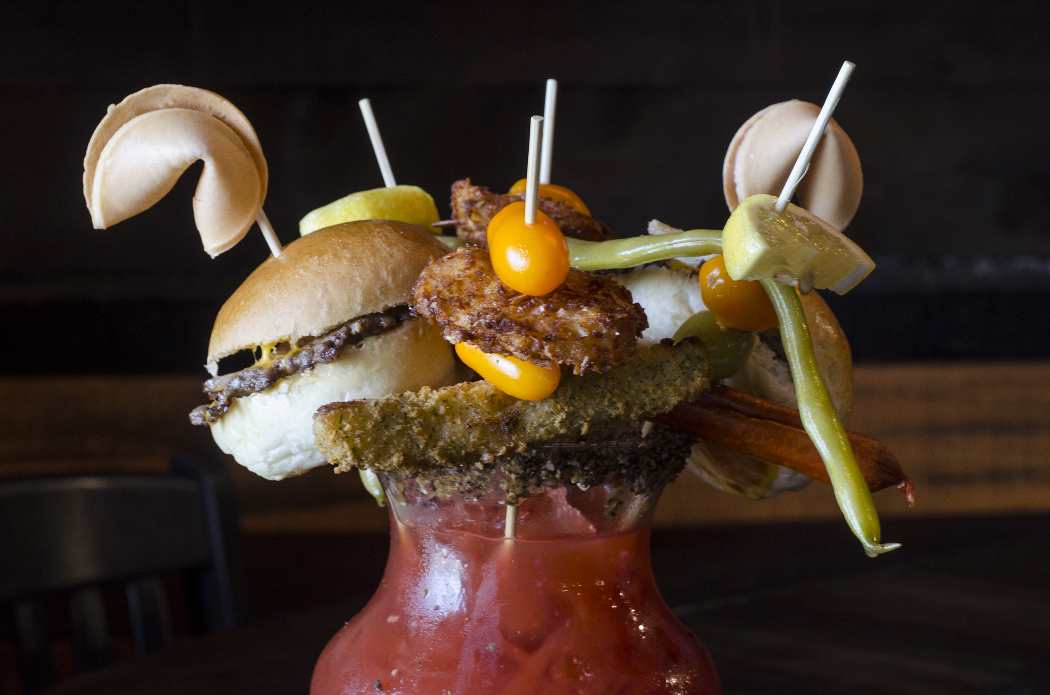The Ridiculous & Obnoxious Caesar for Two at Walkerville Eatery in Windsor, Ontario.