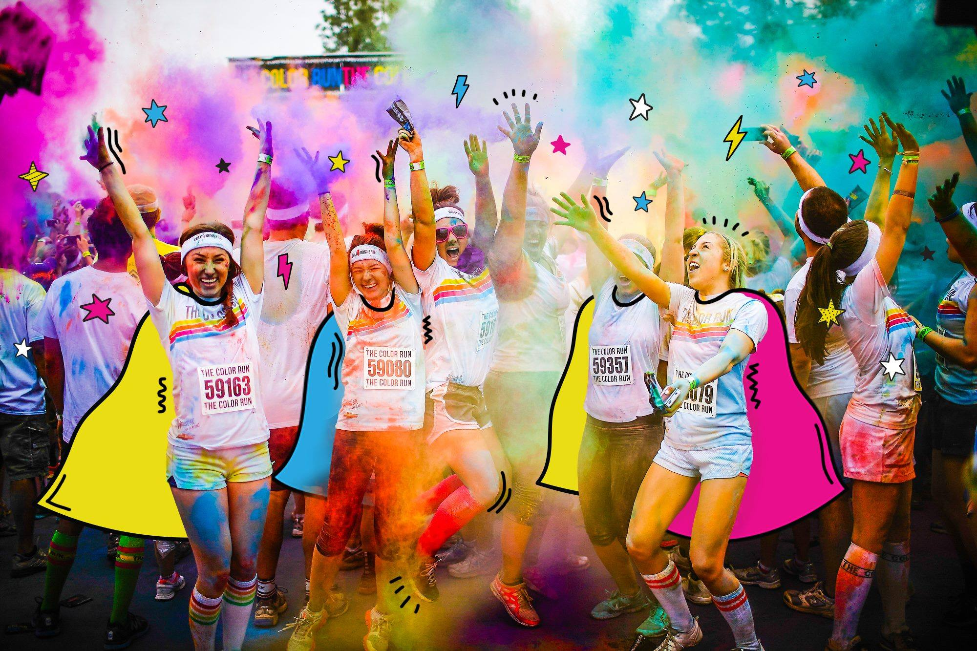 The happiest 5k on the planet!