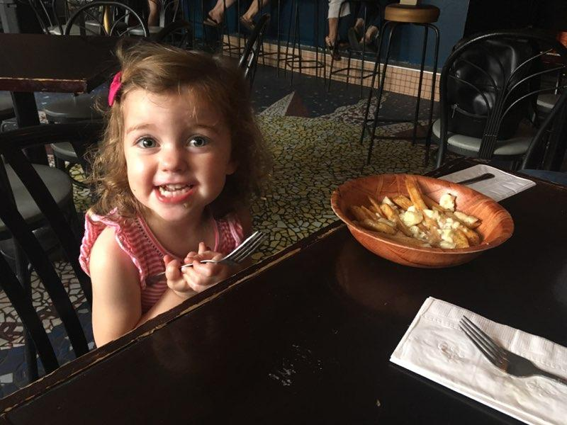 Folks of all ages love The Dirty Poutine Experience.