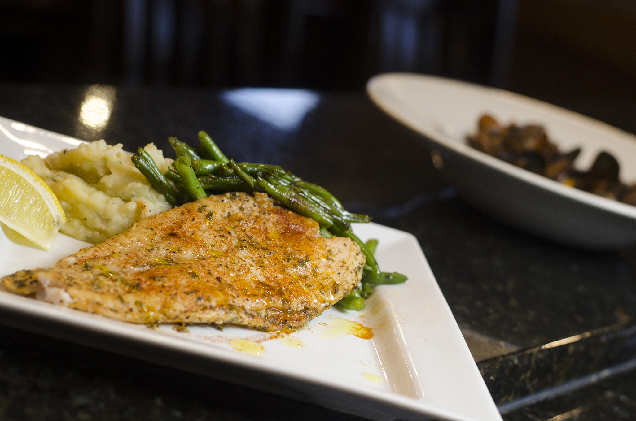The Pesce Bianca is a staple at Enzo's, in Windsor, Ontario.