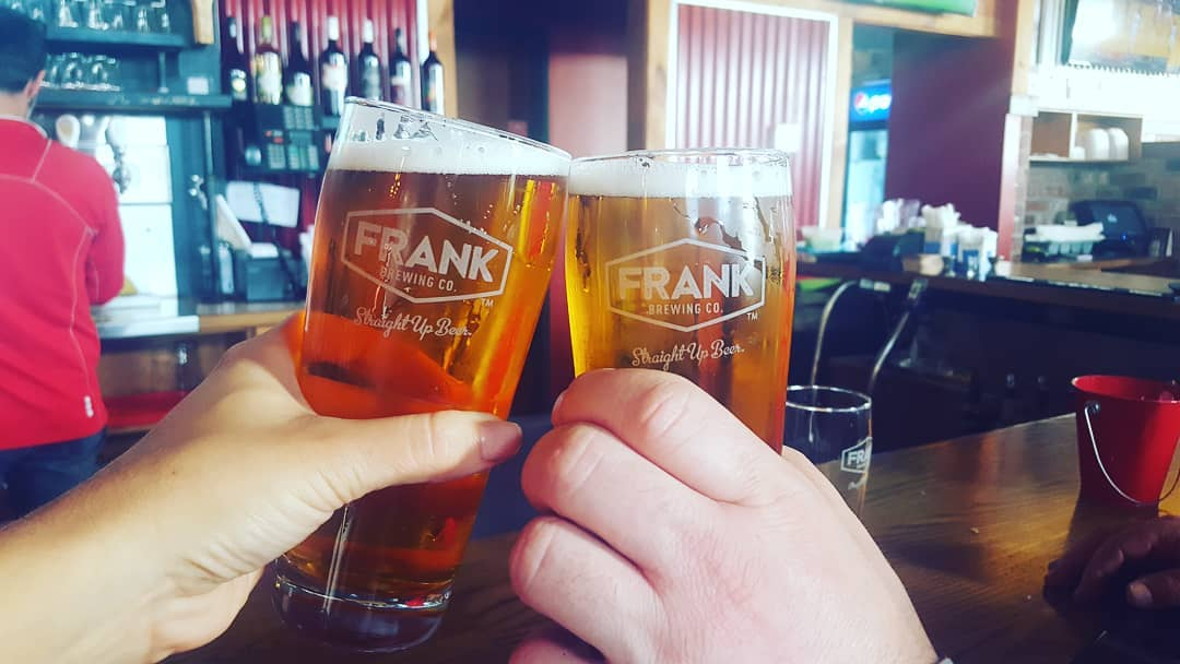 Cheers to the Local Lager from Frank Brewing in Tecumseh, Ontario.