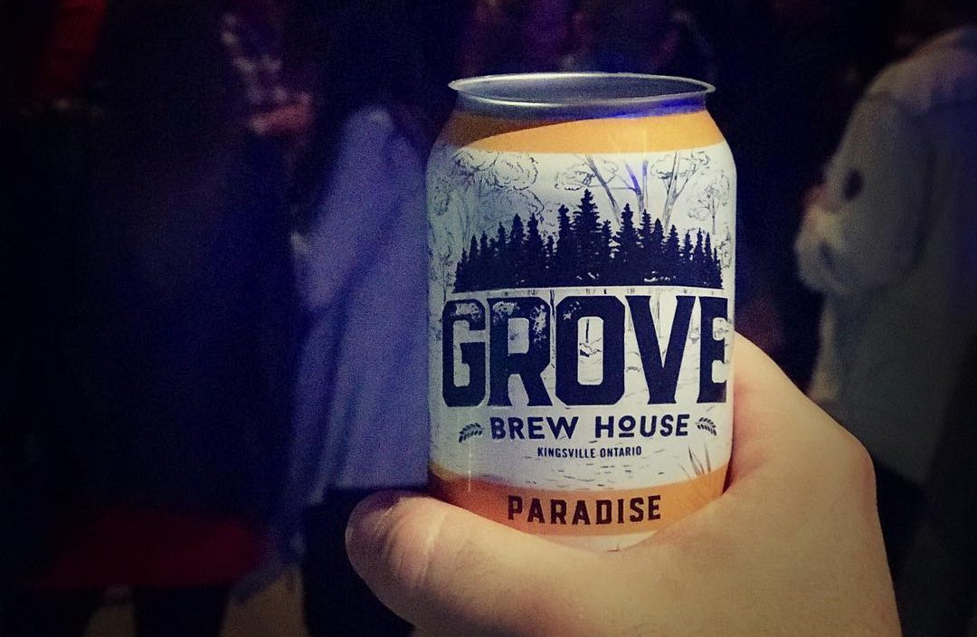 The Paradise Lager from Grove Brew House in Kingsville, Ontario, is a provincial and national award winning lager.