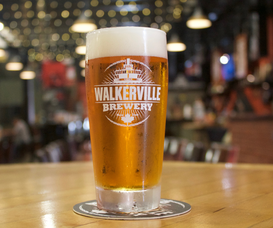 Honest Lager from Walkerville Brewery in Windsor, Ontario.