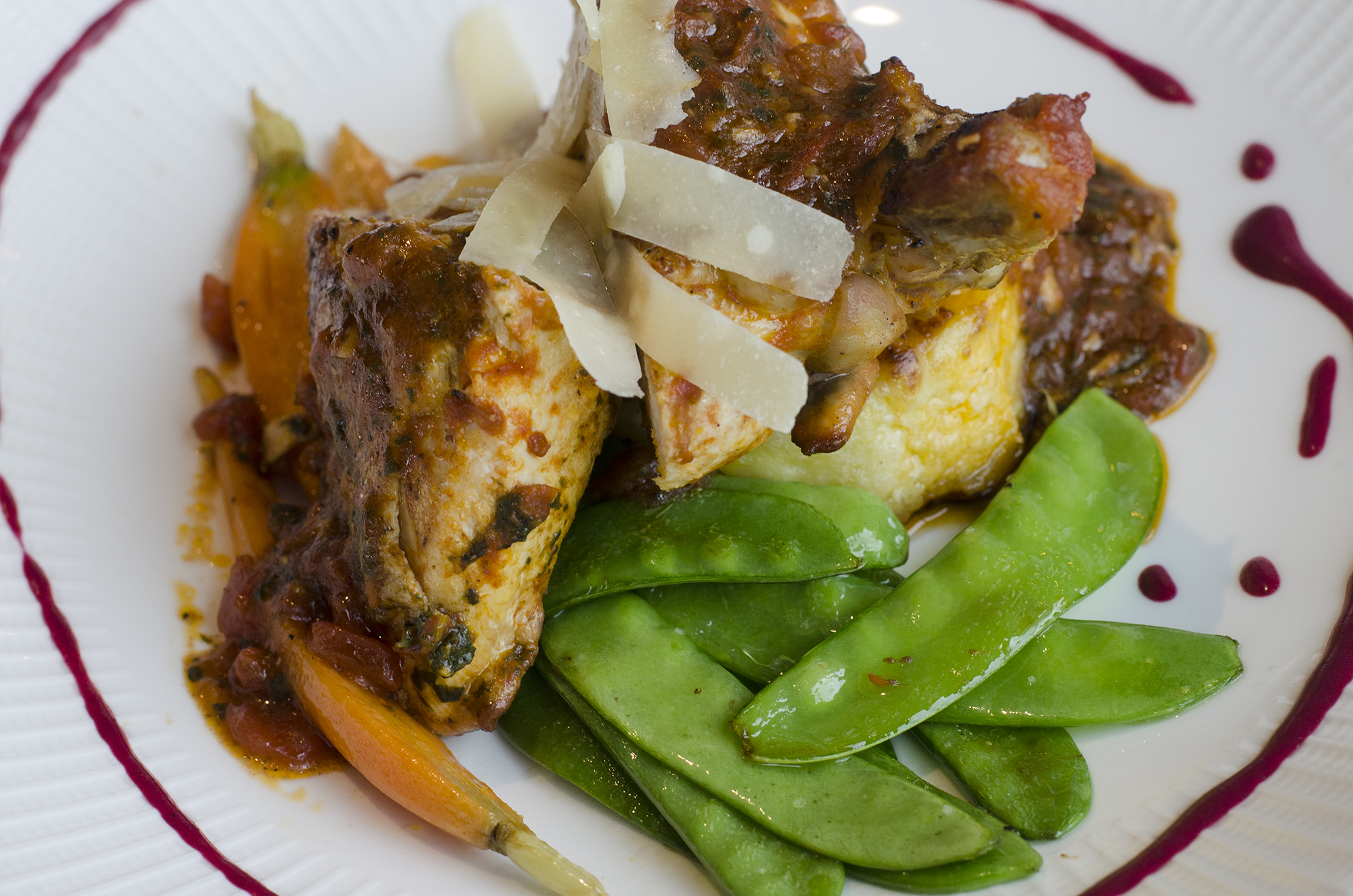 Roasted Chicken from Bacchus Ristorante in the heart of Windsor, Ontario's, Via Italia.
