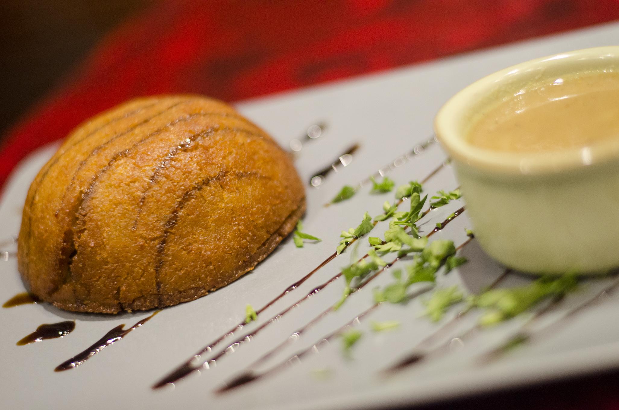 Veggie kebbeh from Mazaar in Windsor, Ontario