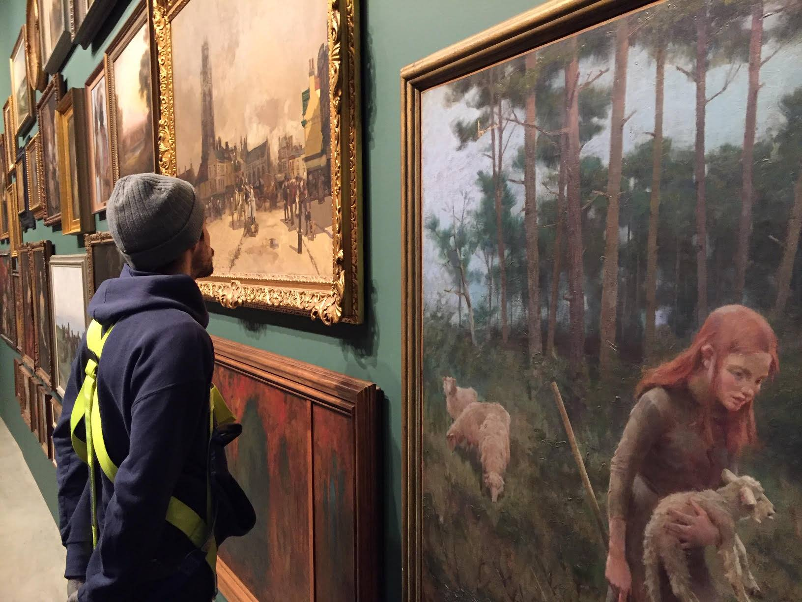 Get up close with the collection at the Art Gallery of Windsor.