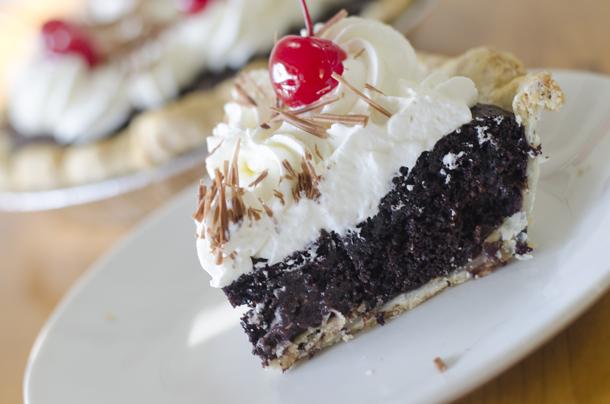 Black forest pie from Riverside Pie Cafe in Windsor, Ontario.