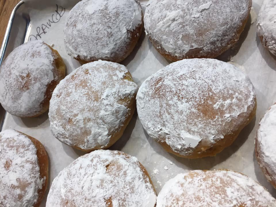 Baked and organic paczki from Brandner Farms Organics in Windsor, Ontario.