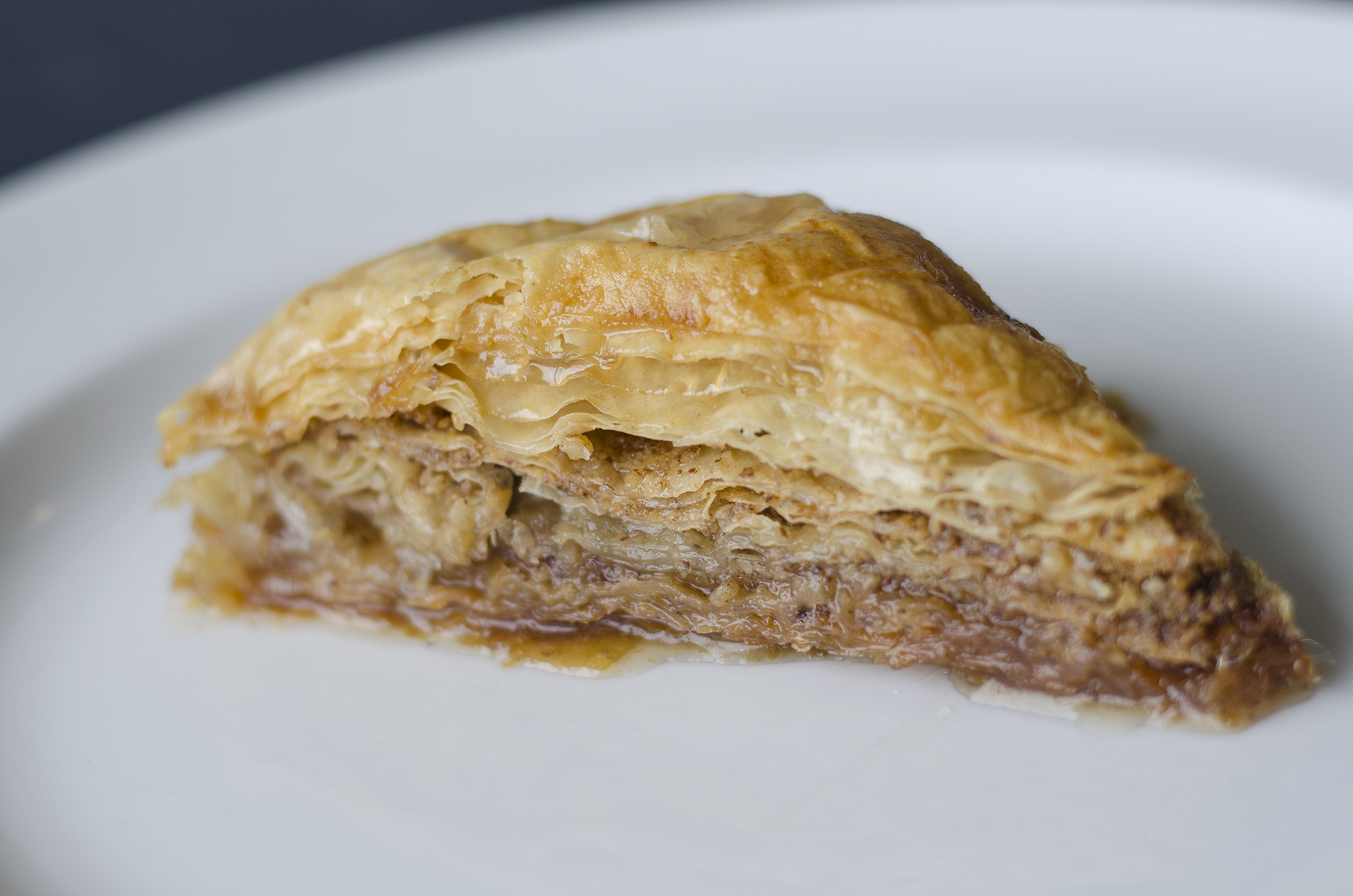 Baklava at Etta's Greeklish Eatery in Windsor, Ontario.