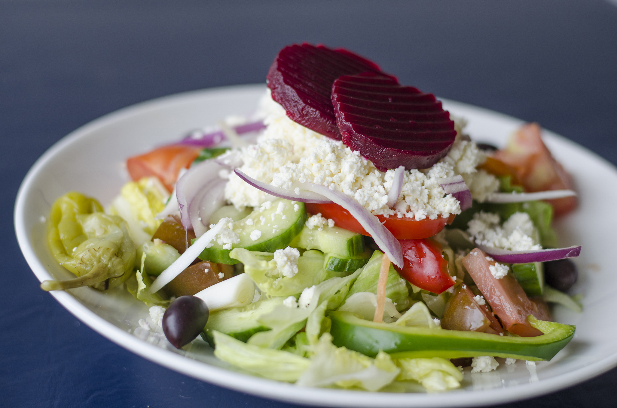 The Greek Salad at Etta's Greeklish Eatery in Windsor, Ontario.